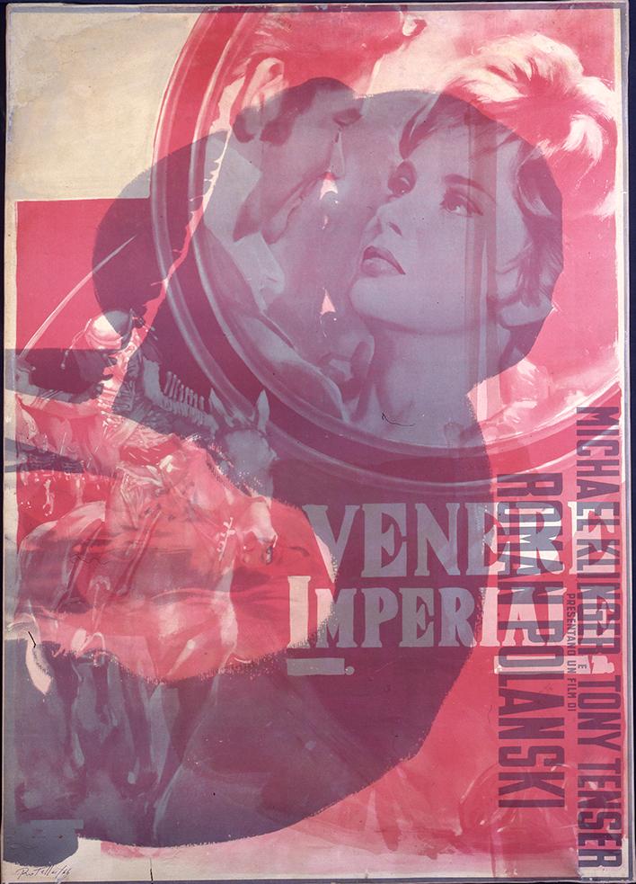 Mimmo Rotella - Venere Imperiale, 1970