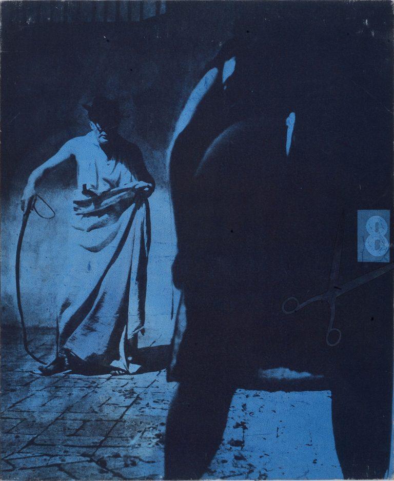 Mimmo Rotella - 8 1/2, 1963