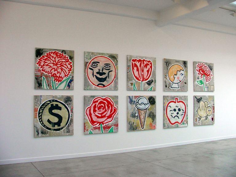 Donald Baechler - Cardi Gallery Milan