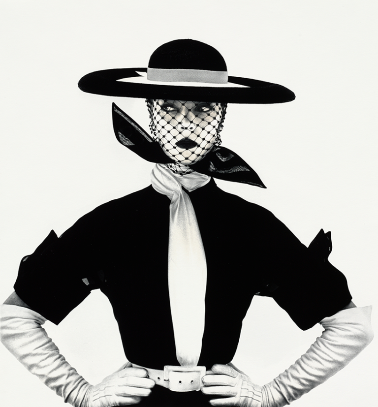 Irving Penn - Black and White Vogue Cover, 1983