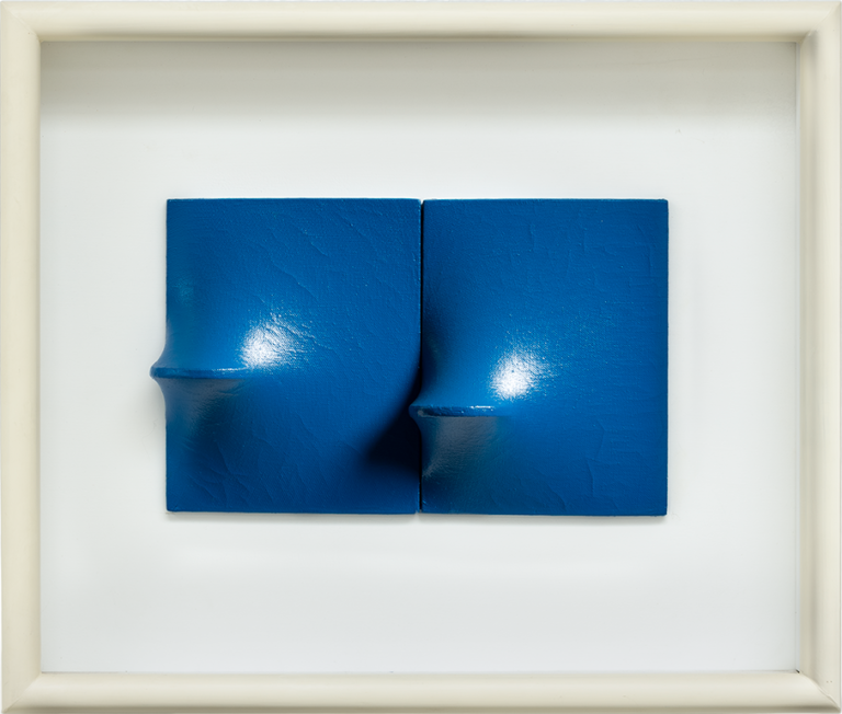 Agostino Bonalumi - Blu, 1955