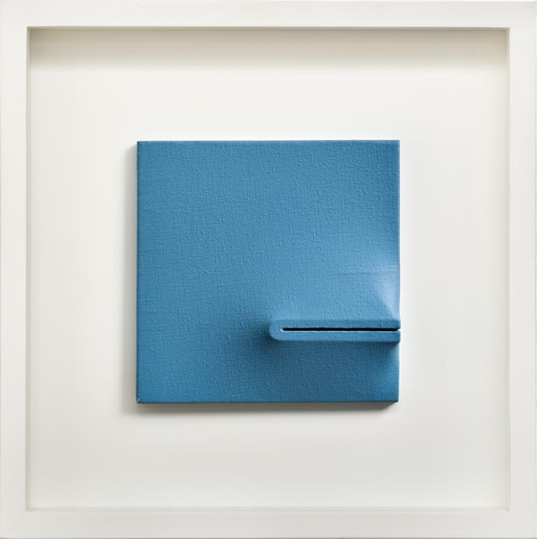 Agostino Bonalumi - Blu