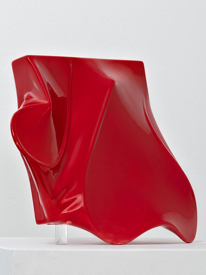 Agostino Bonalumi - Rosso, 1955