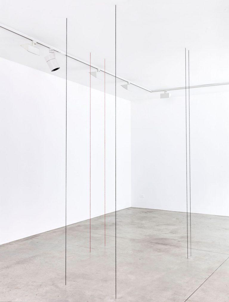 Fred Sandback - Cardi Gallery Milan