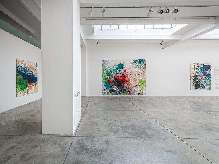 Shozo Shimamoto - Cardi Gallery Milan