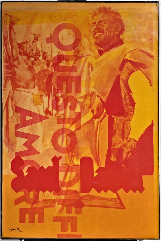 Mimmo Rotella - Questo Difficile Amore, 1970