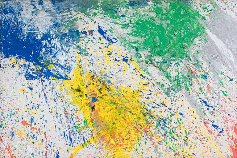 Shozo Shimamoto - Bottle Crash, 2008