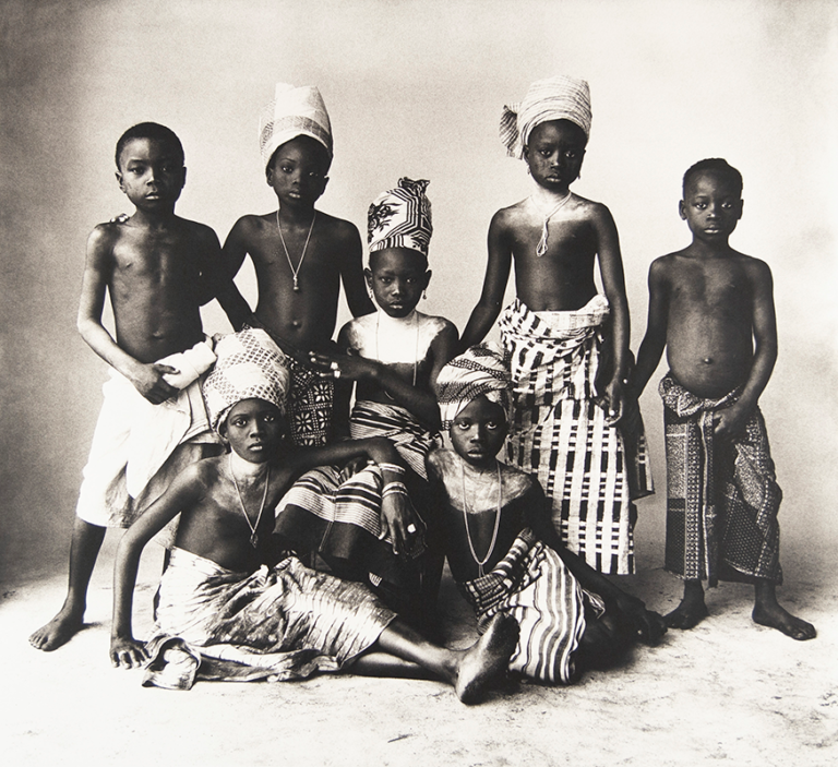 Irving Penn - Dahomey Children, 1983