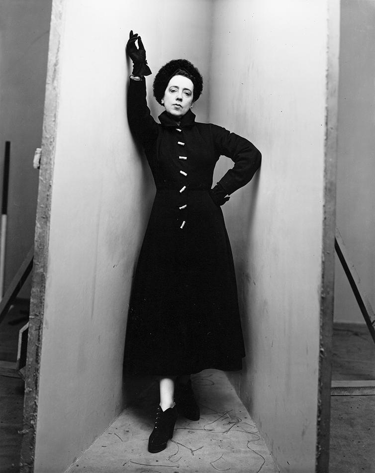 Irving Penn - Elsa Schiaparelli, 1983