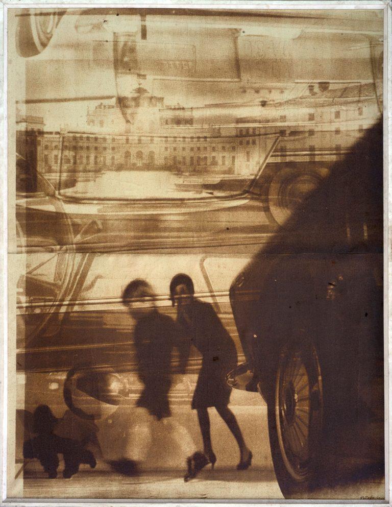 Mimmo Rotella - Fai attenzione!, 1963