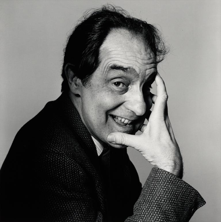 Irving Penn - Italo Calvino (B), 1983