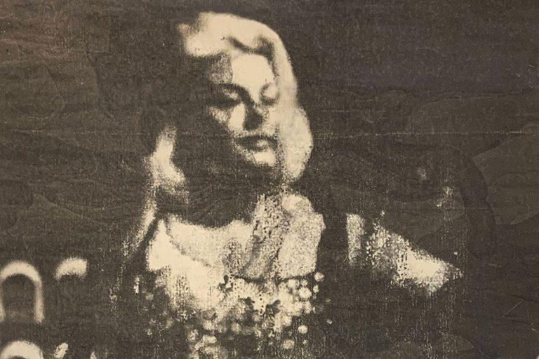 Mimmo Rotella - La diva