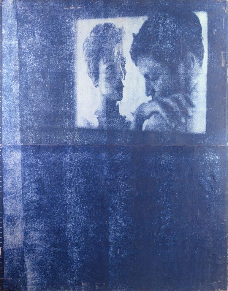 Mimmo Rotella - Lo schermo, 1963