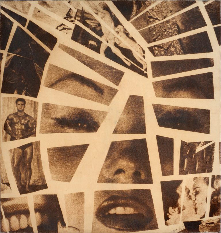 Mimmo Rotella - Mythologies, 1963
