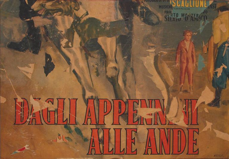 Mimmo Rotella - Dagli Appennini alle Ande, 1970
