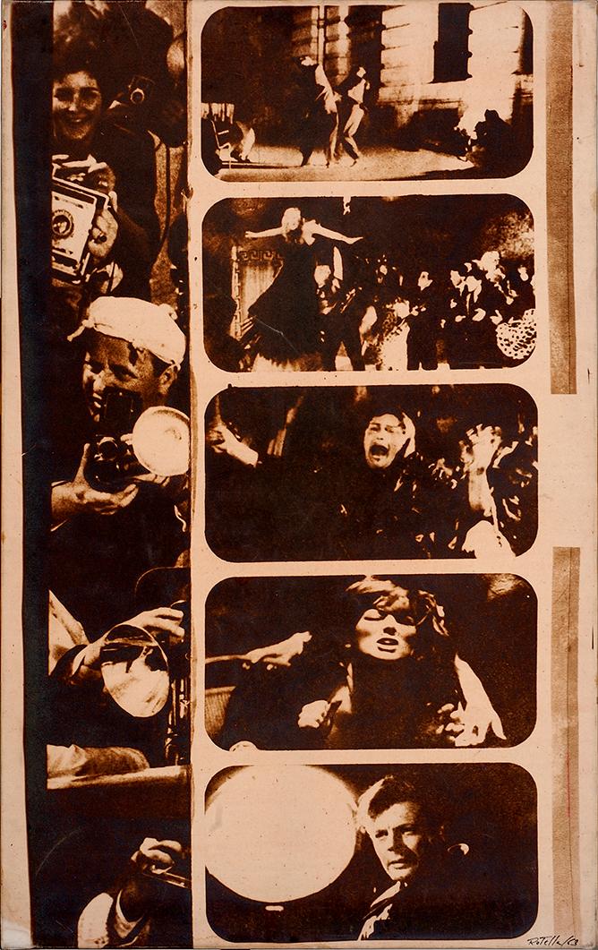 Mimmo Rotella - La Dolce Vita, 1970