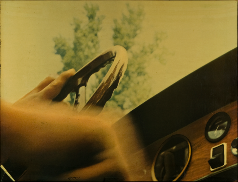 Mimmo Rotella - Le Volant, 1970