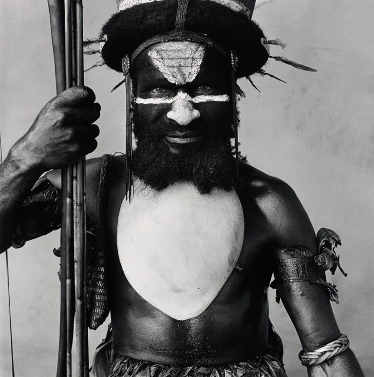 Irving Penn - Tambul Warrior, 1983